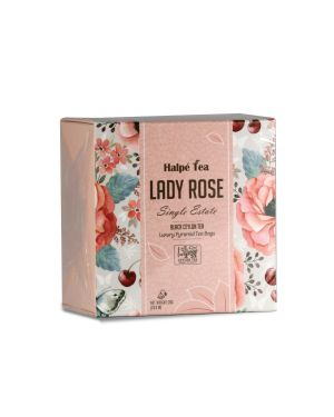 Lady Rose Luxury Enveloped Pyramid Tea Bags
