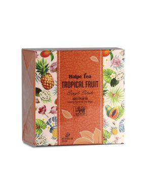Tropical Fruit Luxury Enveloped Pyramid Tea Bags