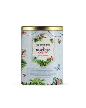 Luxury 50 T/B Black Tea and Green Tea Caddy