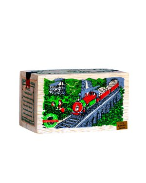 Train Wooden Box 100g