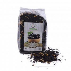 Black Currant Tea Pouch 200g