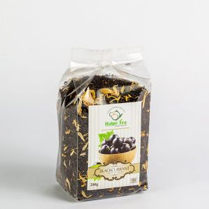 Black Currant Tea Pouch 200g