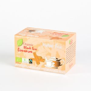 Fair-trade Organic Black tea Cinnamon