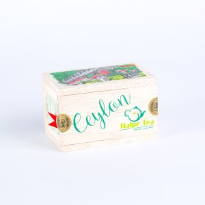 Train Wooden Box 50g